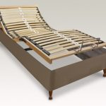 Furmanac 2ft 6 Mibed Electric Adjustable Bed Small Single Base On Legs