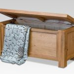 Asc Assembled Westbury Oak Blanket Box