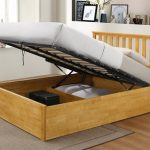 Heartlands Zoe Double Oak Ottoman Bed Frame