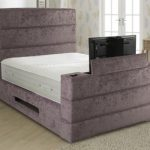 Sweet Dreams Mazarine Double Fabric Tv Bed Frame