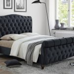 Birlea Colorado Super King Size Black Fabric Bed Frame