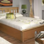 Limelight Terran Double Oak Ottoman Bed Frame