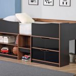 Birlea Paddington Single Black And Walnut Cabin Bed Frame
