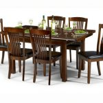 Julian Bowen Canterbury 120cm Mahogany Dining Table And 6 Chairs Set