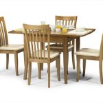 Julian Bowen Newbury 100cm Maple Extending Dining Table And 4 Chairs S