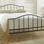 Limelight Neptune King Size Black Metal And Beech Bed Frame