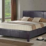 Birlea Berlin King Size Brown Faux Leather Bed Frame