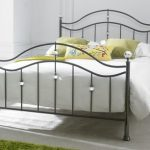 Limelight Cygnus Double Black Chrome Bed Frame