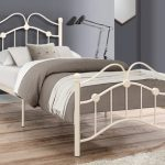 Birlea Canterbury Single Cream Metal Bed Frame