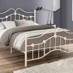 Birlea 4ft Canterbury Small Double Cream Metal Bed Frame