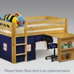 Julian Bowen Wendy Blue Mid Sleeper Bed Frame