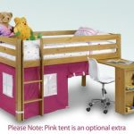 Julian Bowen Wendy Pink Mid Sleeper Bed Frame