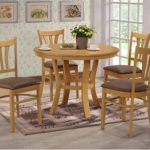 Seconique Grosvenor 101cm Oak Dining Table And 4 Chairs Set