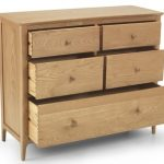 Archers Assembled Windermere Oak 5 Drawer Wide Chest Of Drawers