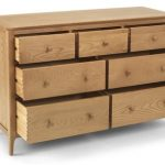 Archers Assembled Windermere Oak 7 Drawer Chest Of Drawers