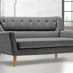 Birlea Lambeth Grey Large 3 Seater Sofa