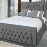 Asc Harley Super King Size Fabric Ottoman Bed Frame