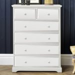 Birlea Assembled Suffolk White 4+2 Drawer Chest Of Drawers