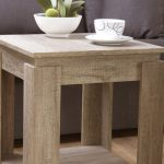 Gfw Flat Packed Canyon Oak Lamp Table