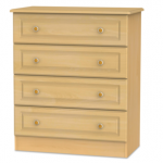 Welcome Assembled Pembroke Beech 4 Drawer Chest Of Drawers