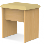 Welcome Assembled Pembroke Beech Dressing Table Stool