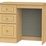Welcome Assembled Pembroke Beech Single Pedestal Dressing Table