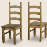 Seconique Corona Pine Set Of 2 Dining Chairs