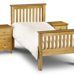 Asc Sedona Single Pine Bed Frame (high Footend)