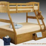 Sweet Dreams Apollo Antique Pine Triple Bunk Bed Frame