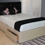 Deluxe Latex Pocket 1000 Double Mattress With Faux Suede Divan Base