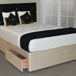 Deluxe 4ft Super Damask Small Double Mattress With Faux Suede Divan Ba