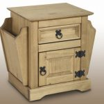 Seconique Flat Packed Corona Pine 1 Drawer Magazine Table