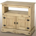 Seconique Flat Packed Corona Pine Tv Cabinet