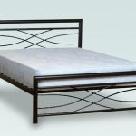 Seconique Kelly Double Black Metal Bed Frame