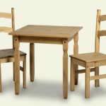 Seconique Rio 81cm Pine Dining Table And 2 Chairs Set