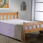 Birlea 4ft Miami Small Double Antique Pine Bed Frame