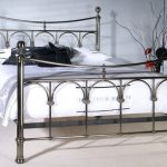 Limelight Gamma Double Antique Nickel Bed Frame