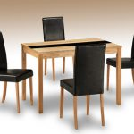 Lpd Ashleigh 114cm Ash Dining Table And 4 Chairs Set