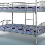 Sweet Dreams Agate Metal Bunk Bed Frame