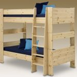 Steens For Kids Long Euro (ikea) Size Natural Pine Bunk Bed Frame