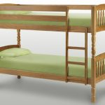 Julian Bowen 2'6″ Lincoln Pine Small Bunk Bed Frame