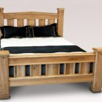 Asc Balmoral Double Oak Bed Frame
