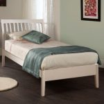 Limelight Ananke Single White Wooden Bed Frame