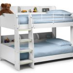 Julian Bowen Domino White Wooden Bunk Bed Frame