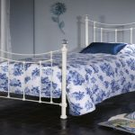 Limelight Metis King Size Ivory Metal Bed Frame