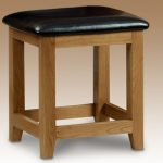 Julian Bowen Assembled Marlborough Oak Dressing Table Stool