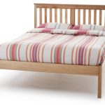 Serene Salisbury Double Oak Bed Frame (low Footend)
