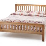 Serene Windsor Double Oak Bed Frame