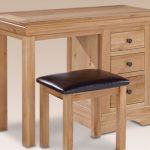Lpd Assembled Worthing Oak Single Pedestal Dressing Table