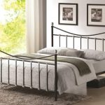 Time Living Oban Double Black And Chrome Bed Frame